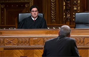 Ninth District Court Of Appeals Judge Thomas A Teodosio Served As Visiting On The Ohio Supreme Today And Heard Oral Arguments In Case